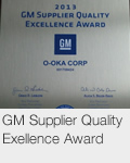 GM Supplier Quality Exellence Award