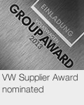 VW Supplier Award nominated